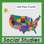 USA Map Puzzle Image