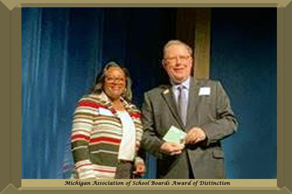 Michigan Association of School Boards Award of Distinction