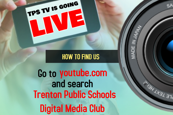 Go to YouTube.com and search: Trenton Public Schools Digital Media Club
